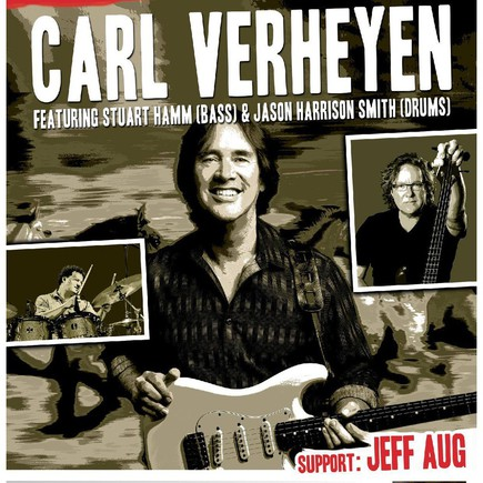 CARL VERHEYEN BAND feat Stuart Hamm & Jason Harrison Smith